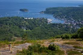 Mt Battie from Tower